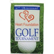 Full Color Golf Towel w/ Hook/Grommet