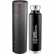 Thor Copper Vac Bottle with Cylindrical Gift Box - 22 oz.