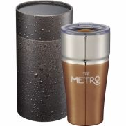 Milo Copper Tumbler with Cylindrical Gift Box - 20 oz.