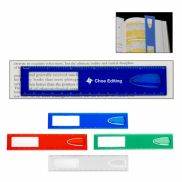 """6"""" Magnifier Ruler with Bookmark"""