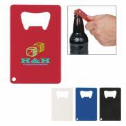 Credit Card Shaped Bottle Opener