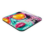 """7"""" x 8"""" x 1/4"""" Full Color Hard Surface Mouse Pad"""