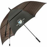 """Cutter & Buck 64"""" Plaid Golf Umbrella"""