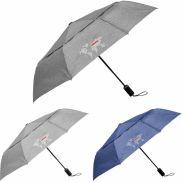 """Cutter & Buck 46"""" Heathered AOC Vented Umbrella"""