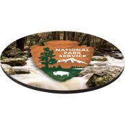 """Thick Full Color Hard Mouse Pad - 8"""" Dia. x 1/8"""""""