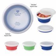 Collapsible Food Bowl w/ Custom Handle Box