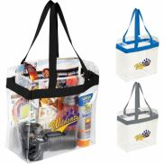 """Game Day Clear Stadium Tote - 12"""" x 12"""""""