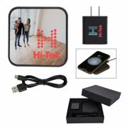 Dynamic Duo Wireless Charger & Adapter Gift Set