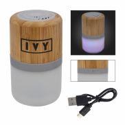 Bamboo Wireless Light Up Speaker