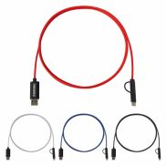3-in-1 5 Foot Braided Charging Cable