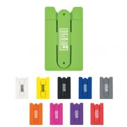 Silicone Phone Wallet with Kickstand