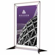 3' FrameWorx Tabletop Kit w/ No-Curl Opaque Fabric