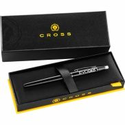 Cross Century Black Lacquer and Chrome Roller Ball Pen