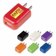 UL Listed Rectangular USB A/C Adapter