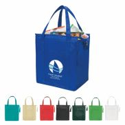 """Insulated Zippered Tote Bag - 13"""" x 15"""""""
