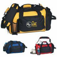 "Deluxe Sports Duffel Bag - 21"" x 13"" x 11"""