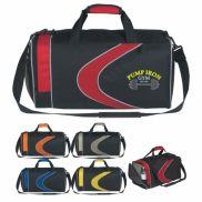 """Sports Duffel Bag - 19"""" W x 10"""" H x 9 ¾"""" D"""