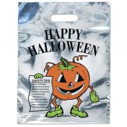 Silver Reflective Pumpkin Bag