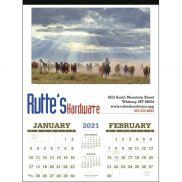 American West by Tim Cox Executive Calendar