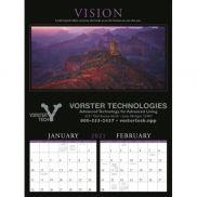 Motivations 6-Sheet Executive Calendar