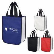 Shiny Non-Woven Shopper Tote Bag