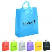 "Plastic Bag with Ink Imprint - 13"" x 6"" x 17"""