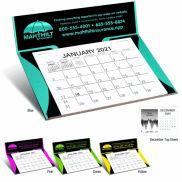 Curved Memo Desk Calendar