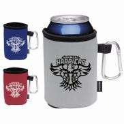 Koozie® Collapsible Can Cooler with Carabiner