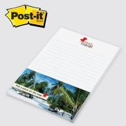 """Post-it Notes w/ PMS Matching 4"""" x 6""""- 50 Sheets"""