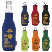 Koozie® Neoprene Zip-Up Bottle Cooler