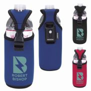 Koozie® Bottle/Can Cooler with D-ring and Clip