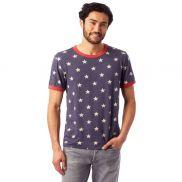 Alternative Unisex Eco-Jersey Ringer T-Shirt