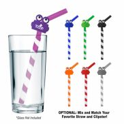 GreenPaxx Tie Dye Cool Straw with Clipster
