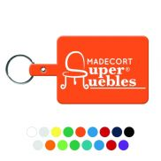 Large Rectangle Flexible Key-Tag