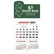 3-Month View Stick Up Grid Calendar