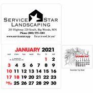 Stock Shape Stick Up Calendar