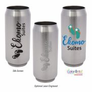Soda Pop Stainless Steel Cup - 13 oz.