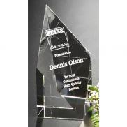 Diamond Spire Service Award - 6 in.