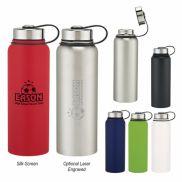 Invigorate Stainless Steel Bottle - 40 oz.
