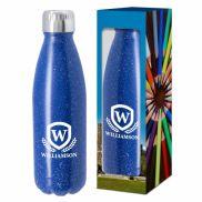 Speckled Swiggy Bottle w/ Custom Window Box - 16 oz.