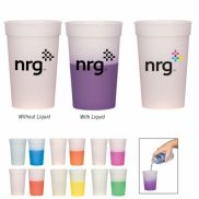 Color Changing Stadium Cup - 17 oz.