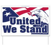 United We Stand Sign