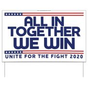 United For The Fight Sign