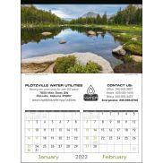 Scenes of America Executive Calendar