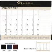 Vinyl Desk Pad Calendar
