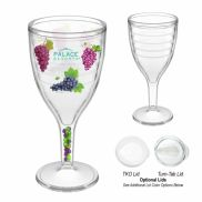 Plastic Wine Glass - 12 oz.