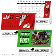 The Saturday Evening Post Desk Calendar