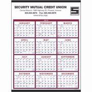 Span-A-Year Red & Blue Calendar