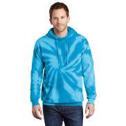 Port & Company Tie Dye Pullover Hooded Sweatshirt