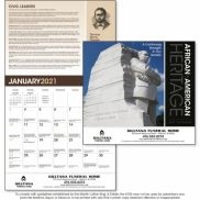 African-American Heritage: Dr. M Luther King, Jr. Calendar